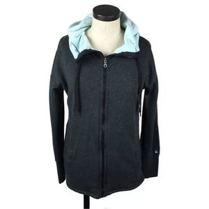 Gaiam Yoga Full Zip Front Hooded Sweatshirt M